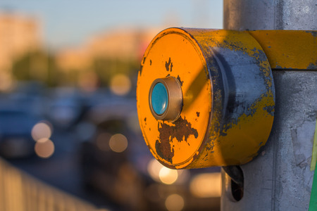 manage transportation: Push-button on cross walk to switch lights