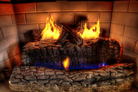 HDR Fire place