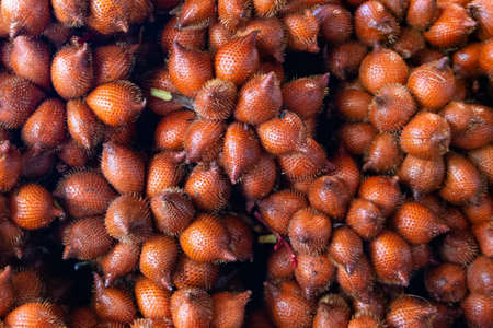 Salak, fruit that sale in the market from Thailand