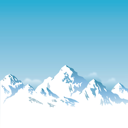 capped: snow capped mountains - background