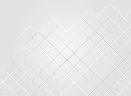 white wall: Background with squares twist Illustration