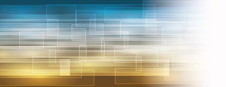Background highlighted with transparent squares - vector banner
