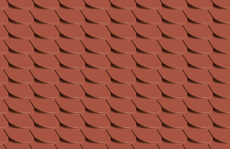 Scales seamless tile pattern texture - Vector Illustration