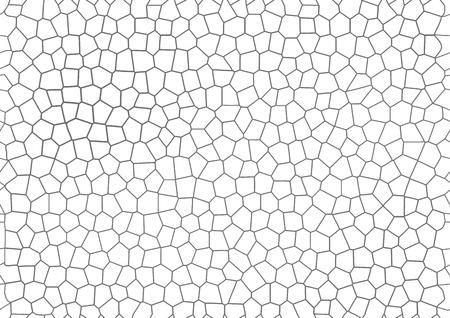 gray mosaic geometric vector background
