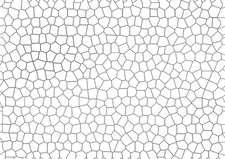 gray mosaic geometric vector background