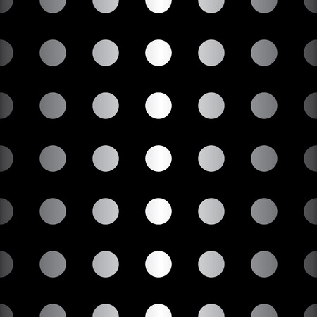 Big Dot seamless pattern. Abstract fashion black and white texture. Graphic style for wallpaper, wrapping, fabric, background, apparel, print production