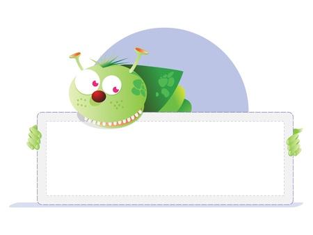 Bugs card Illustration