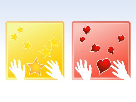 in your hands, love messages