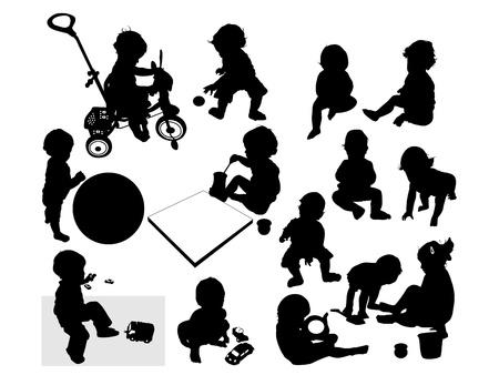 children play  Illustration