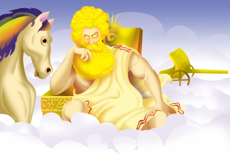 Helios, the greek god of sun