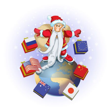 Santa Claus and the global balance