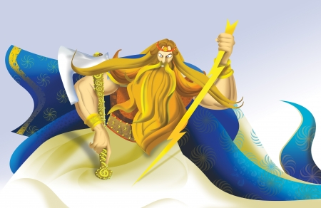 Perun, Slavic god of thunder and lightning