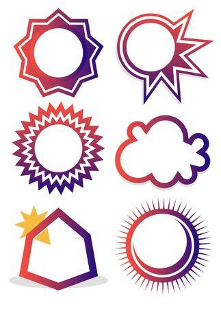 symbols between sky and earth Stock Vector - 16783335