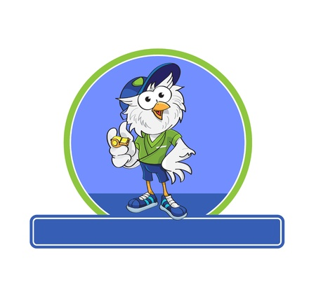 owl as a coach, your mascot