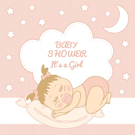 baby romper: Baby Shower  Its a girl congratulations on the birth of a girl