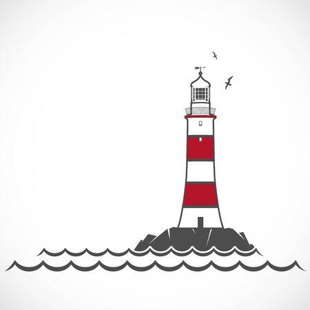 маяк картинки символами всё