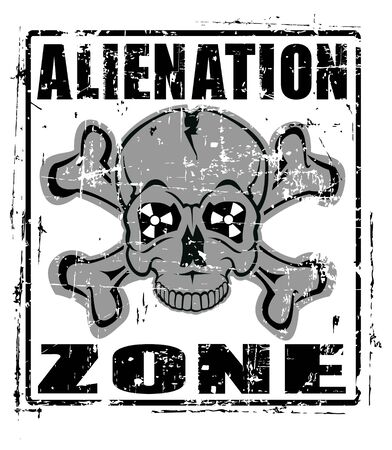 nuclear accident: The Vector image of Alienation Zone