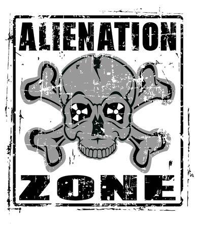 alienation: The Vector image of Alienation Zone