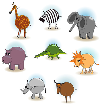 absurd: The Vector image of animals