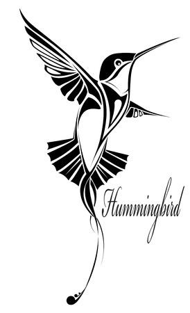 The vector image of Hummingbird
