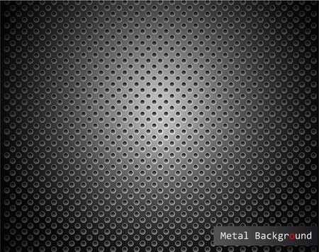 grille: The vector image of  Metal background.Vector illustration