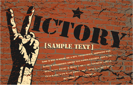 The vector image of  Vector background in style grunge 일러스트