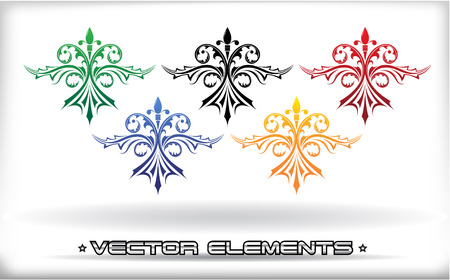 The vector image of VECTOR ELEMENTS