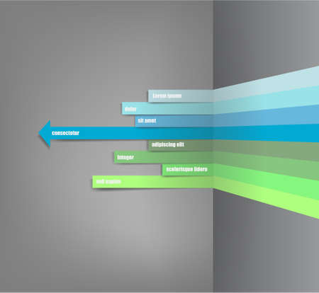 The vector image of vector web design template