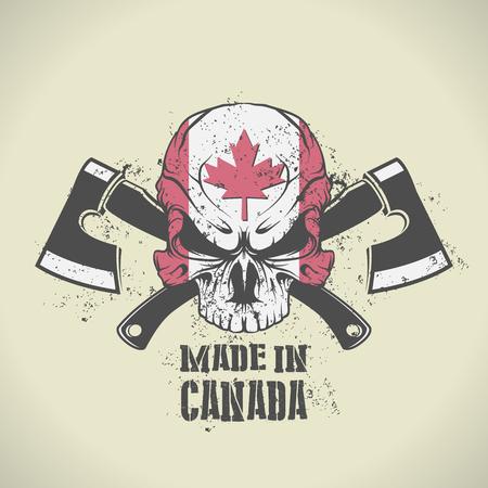 캐나다 스탬프에서 만든 벡터 이미지 스톡 콘텐츠 - 39387633