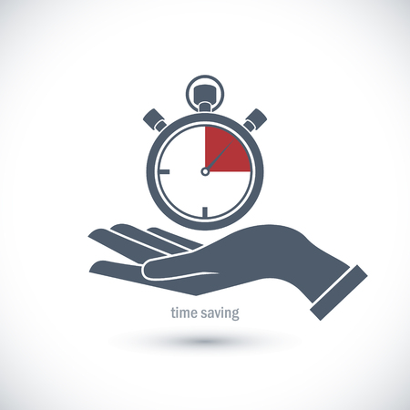 save time: The image of Icon to save time.