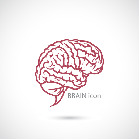 The image of Brain Icon