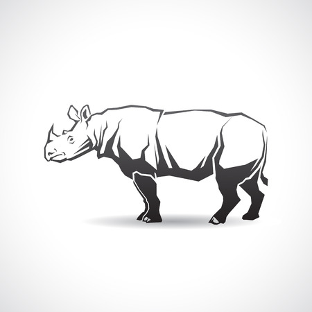 The icon with the image of a rhinoceros.