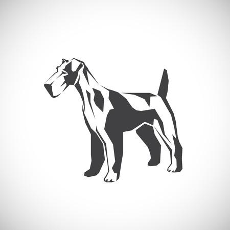 british english: Fox Terrier. A pet.