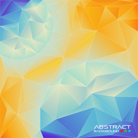 Abstract background of triangles.