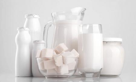 milk products  Stok Fotoğraf