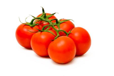 Tomato Isolated On White Background Foto de archivo