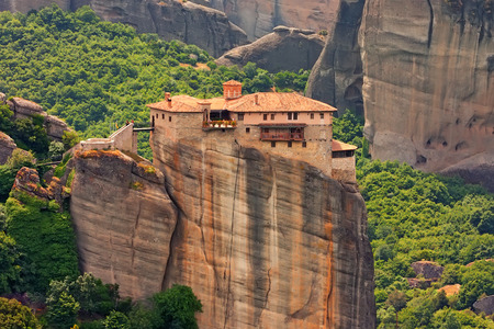 Rousanou (聖バルバラ) メテオラ, ギリシャの神聖な修道院