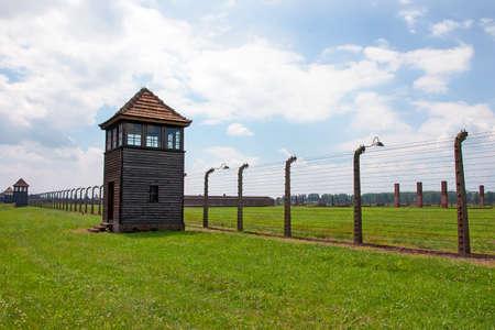 Auschwitz - Birkenau concentration camp near Krakow, Poland