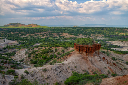 mankind: Olduvai Gorge is a cradle of mankind, Tanzania, Africa