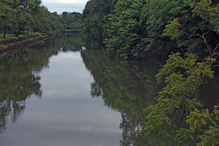 belonging: Artificial pond belonging to Sigiriya ruin site Stock Photo