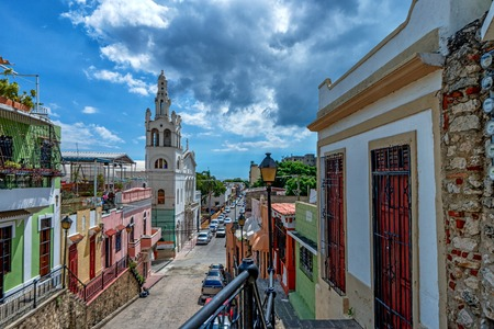 View of Santo Domingo, capital of Dominican Republic