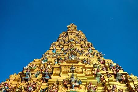 hinduist: Hindu temple Sri Muthumariamman Thevasthanam at Matale, Sri Lanka