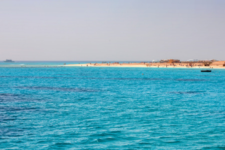 holidaying: Vacation and holidaying on Red Sea coast Stock Photo
