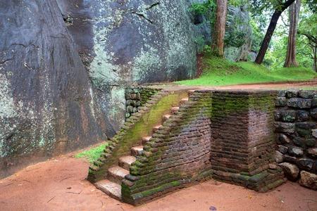 sigiriya: Sigiriya ruin complex