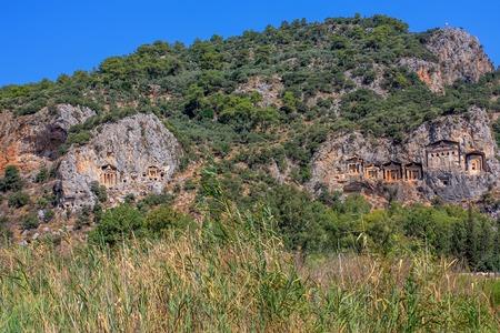 Cave tombs of Kaunos