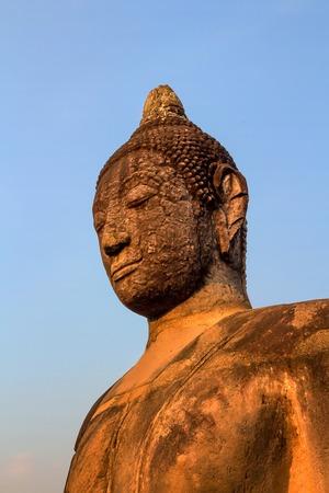 moksha: Statue of Buddha in Ayutthaya