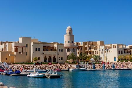 Boten in Tala Bay, Aqaba, Jordanië Stockfoto - 72195904