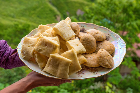 dagestan: Khinkal is traditional dish of Dagestan cuisine