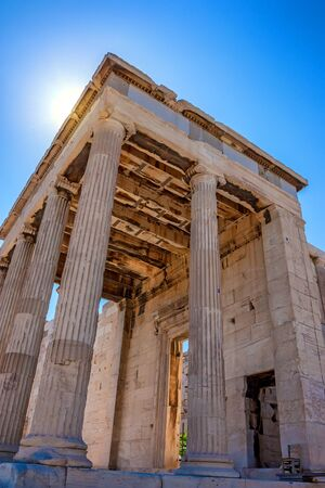 Erechtheum temple ruins