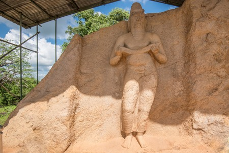 Statue of king Parakramabahu